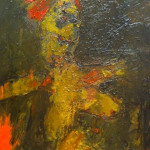 """Figure in Green"" 2009 (20"" x 16"" Oil on Canvas, $1200.00)"