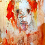 """Woman with Red Hair"" 2001 - Tari Leventhal - (24"" x 18"" Oil on Canvas, $800.00)"