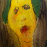 """Head"" 2009 (24"" x 18"" Oil on Canvas, $600.00)"