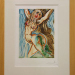 """Le Femme-Cheval"" (Color Lithograph, Framed: 32.25"" x 25.25"") $250.00"
