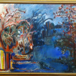 "Lithuanian Artist (30"" x 40"" Oil on Canvas, $750.00)"