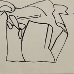 Automatism Drawing, 1996 (Pen on Paper, 9'' x 12'')